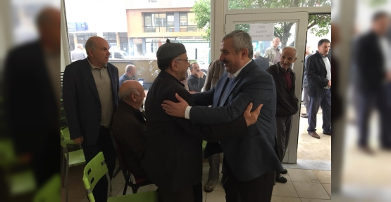 Başkan Baran, Hafta  Sonu da Sahadaydı