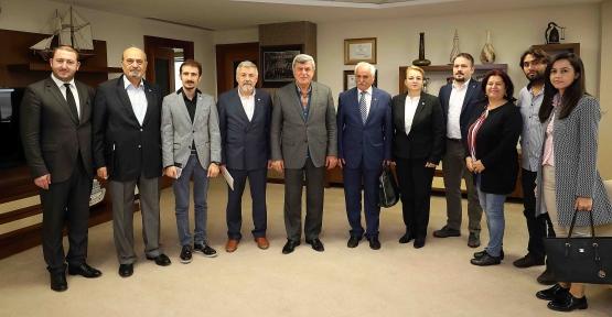 Başkan Karaosmanoğlu, ''Kentimizi Ortak Akılla Yönetiyoruz''