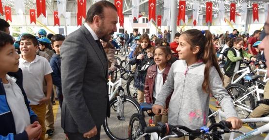 Doğan'ın Bisiklet Projesi Türkiye'ye Örnek Oldu