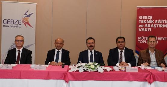 Gebze Teknik Eğitim Ve Araştırma Vakfı 4. Mütevelli Heyet Toplantısı Yapıldı