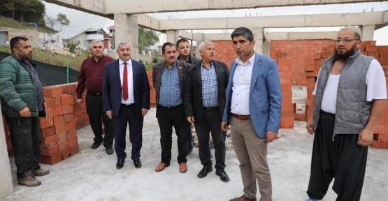 Başkan Baran 2 Köye Cami Yaptırıyor