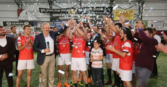 Taşköprü'de Şampiyon İshakçılar FK