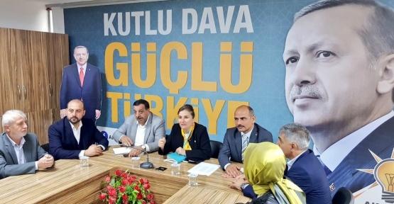 AK PARTİ'DE MEVCUTLAR HAKKINDA RAPOR ALINDI