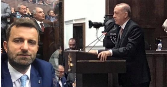 ALİM ERDEMİR AK PARTİ GRUP TOPLANTISINDA