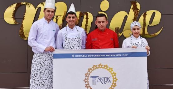 Antikkapı'nın Genç Şefleri Antalya'da Yarışacak
