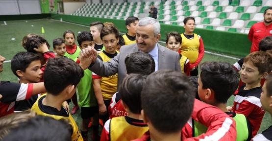 """Başkan Baran; """"Geleceğim Milli Sporcularını Yetiştiriyoruz"""""""