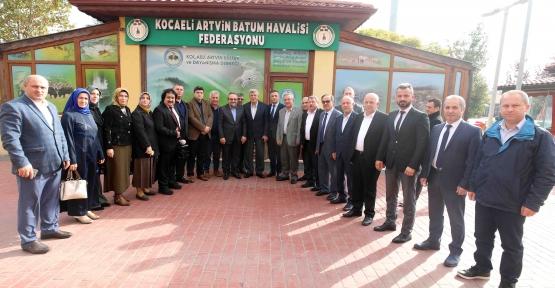 Başkan Karaosmanoğlu,  Artvinlilere Konuk Oldu