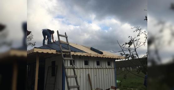 Denizde Hayatını Kaybeden Dalgıcın Eşine Kandıra Belediyesinden Prefabrik Ev