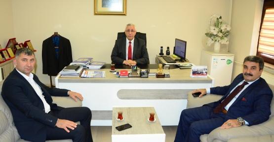 Irak'tan İl Kütür Müdürü Zanburkan'a Ziyaret