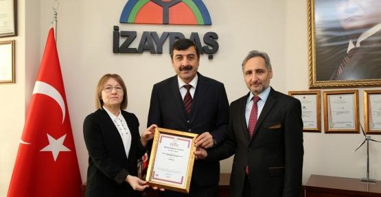 İZAYDAŞ BİR PATENT DAHA ALDI