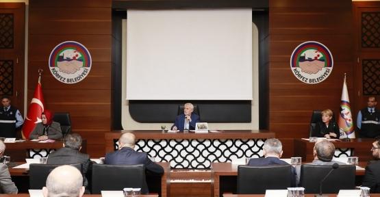 Körfez'de Kasım Ayı Meclis Toplantısı Gerçekleştirildi