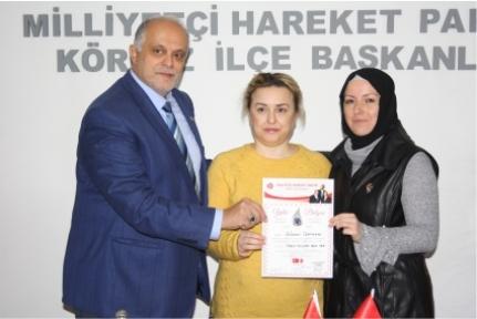 MHP Körfez'de Nöbet  Değişimi