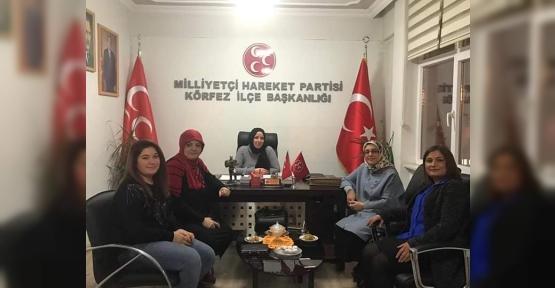 MHP'li Kadınlar Kolları Sıvadı