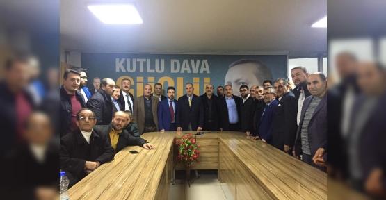 AK Parti Körfez'de Başvurular  Hızlandı