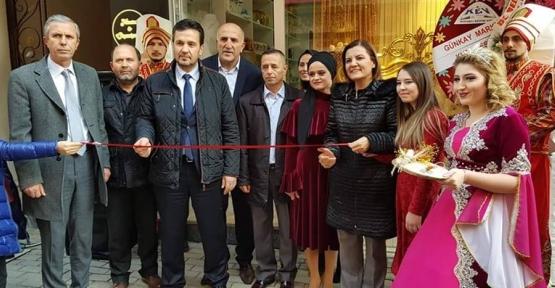 Akbaş, Seçil Organizasyon'un Açılışını Yaptı