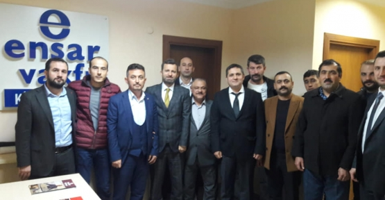 Alim Erdemir Ensar  Vakfı'nı Ziyaret Etti