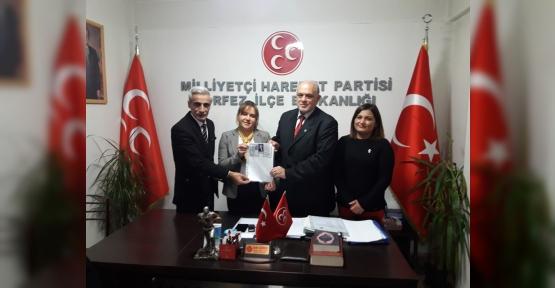 Aynur Vergili MHP'den  Meclis Üyesi Aday Adayı