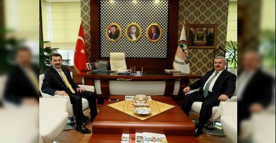 Başkan Baran'ın Ziyaretçi Trafiği