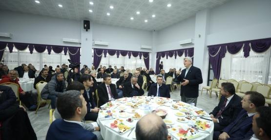 Başkan Karaosmanoğlu: ''Halkımızın Mutlu Olması İçin Çalıştık''
