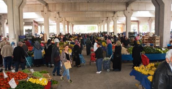 Doğu Kışla'da 122 Pazarcı Yeri Satışta