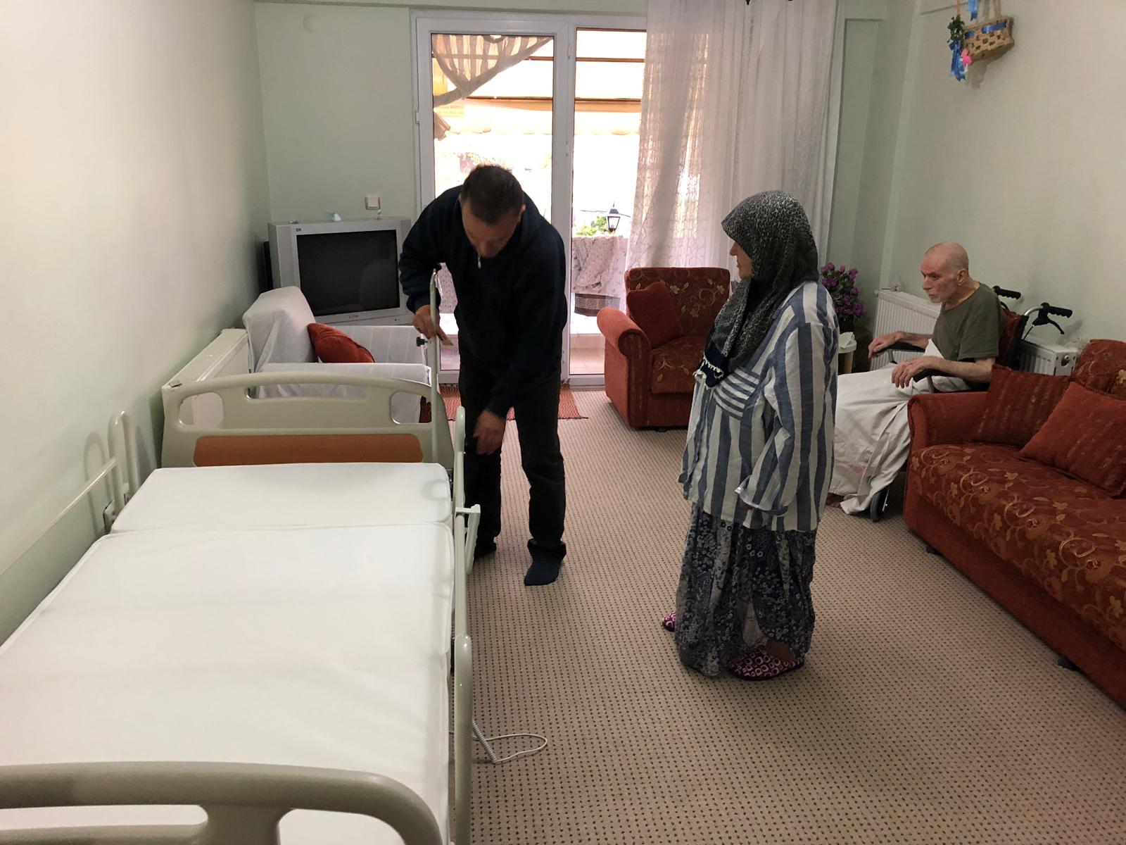 Hasta ve Yakınlarını Sevindiren Hizmet