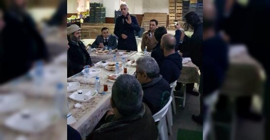 Hatipoğlu Vatandaşlarla  Kahvaltılarda Buluştu