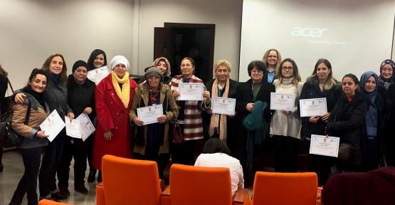 Kadınlara İnsan Kaynaklarında Yönetim Anlatıldı