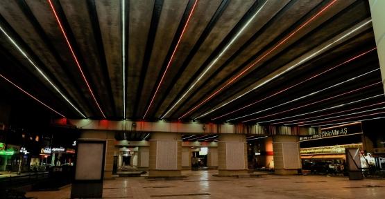 Viyadük Altlarına LED Aydınlatma