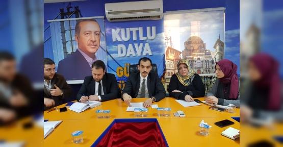 AK PARTİ İZMİT'TE SEFERBERLİK..!