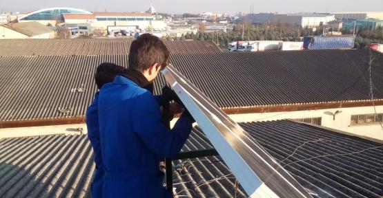 Ali Nuri Çolakoğlu Ç.İ.B Okulu Enerji Üretiminde Çığır Açtı