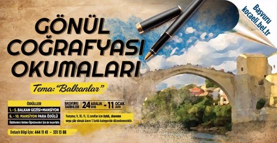 """Balkanlar Temalı """"Gönül Coğrafyası Okumaları"""" Başlıyor"""