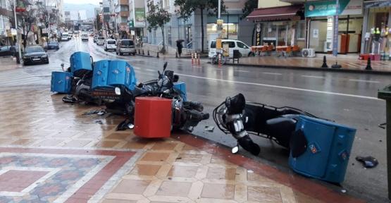 BU KEZ DE MOTORLAR PARÇALANDI..!