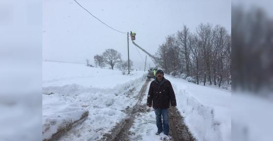 İlimtepe'nin Karla Sınavı  Başladı