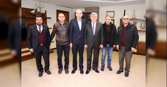 Karaosmanoğlu, BBP İl Yönetimini Konuk Etti