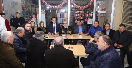 """Katırcıoğlu, """"İzmit'te oyumuzu arttıracağız"""""""