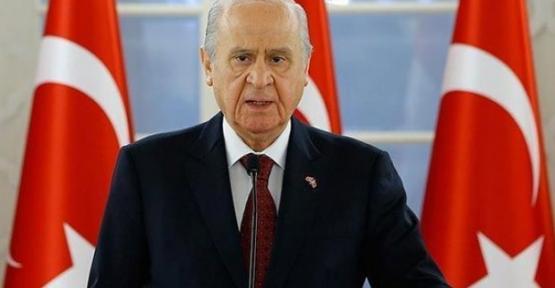 MHP Genel Başkanı Devlet Bahçeli'den Kritik 'Mesaj'