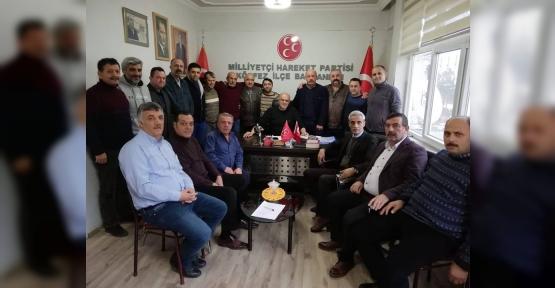 MHP Körfez 2019'un İlk  Toplantısını Yaptı