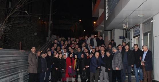 Taşköprülülerden Başkan Tuna'ya Tam Destek