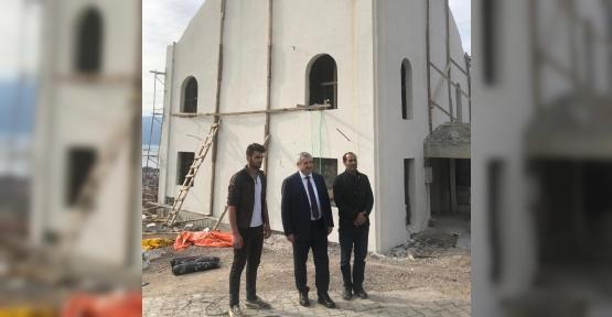 Başkan Baran Amasyalılar Camii Projesi İnceledi