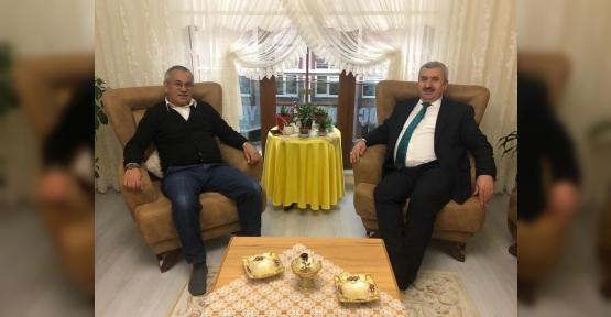 Başkan Baran'dan ziyaretler