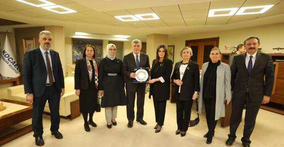 Başkan Karaosmanoğlu, Sarıeroğlu'nu Konuk Etti