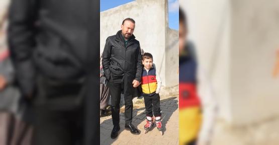 İzmit'in Köylerinde Çocukların Paten Keyfi