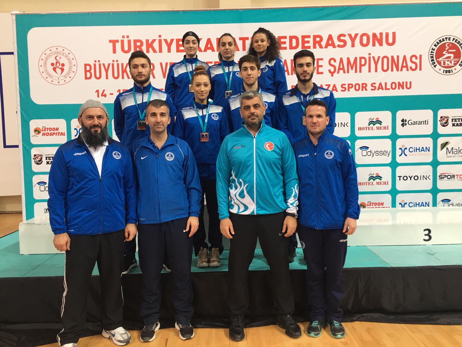 Kağıtspor, Karatede Türkiye Şampiyonu
