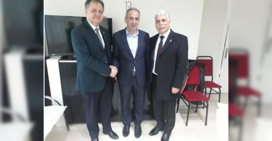 Kaman'dan Ali Çakır'a Ziyaret
