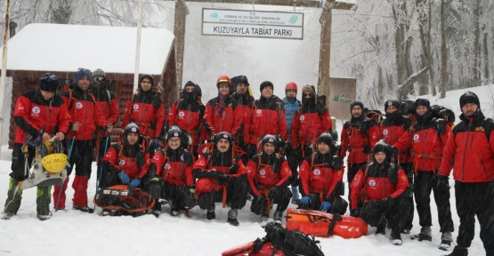 Karda Kurtarma Eğitimi İle Hayat Kurtaracaklar