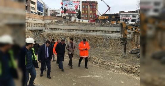 Metro İnşaatı Bayram'ın Yakın Takibinde