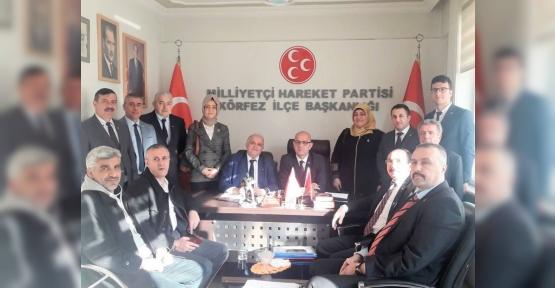 MHP Körfez'de Mülakat Başladı