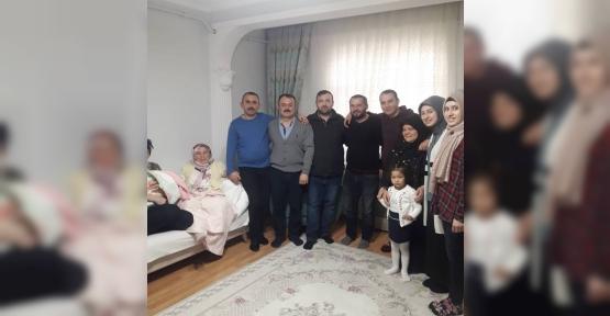 Recep Ak, Hırsız Şoku  Yaşayan Aileyi Ziyaret Etti