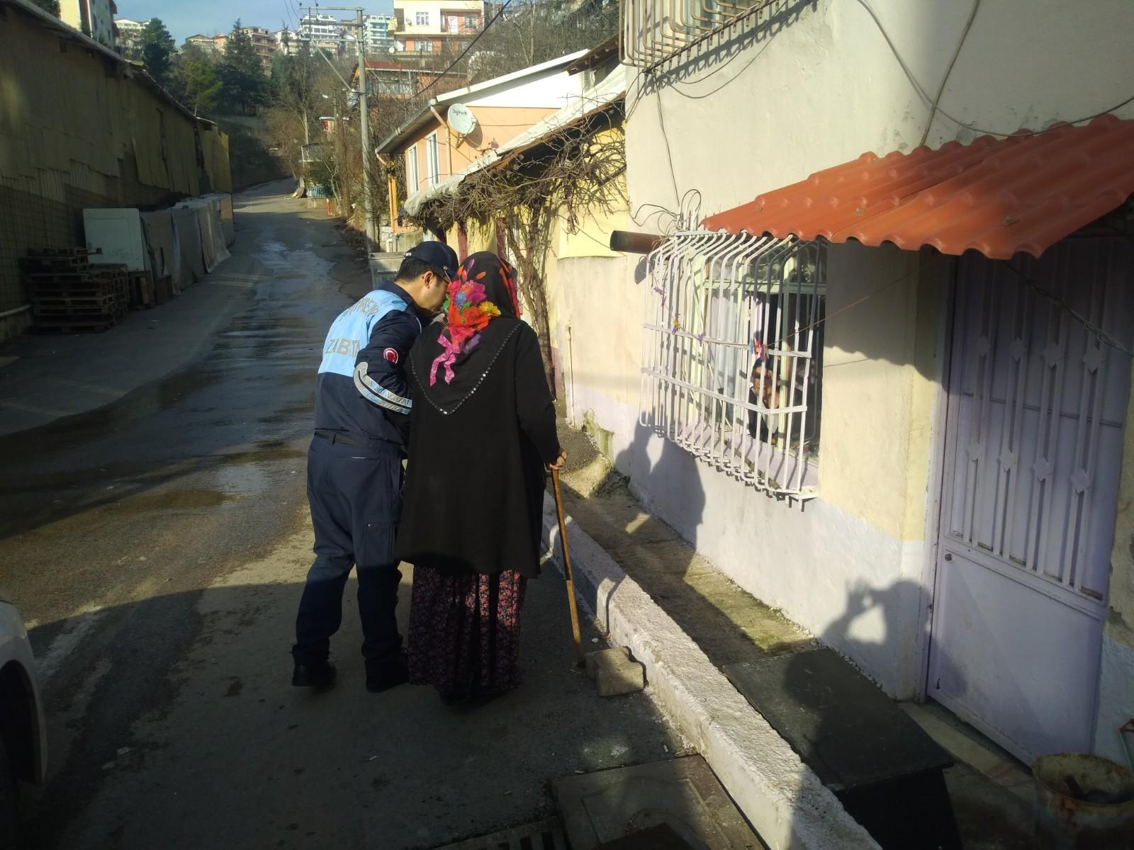ZABITADAN AYSEL TEYZE'YE YARDIM ELİ