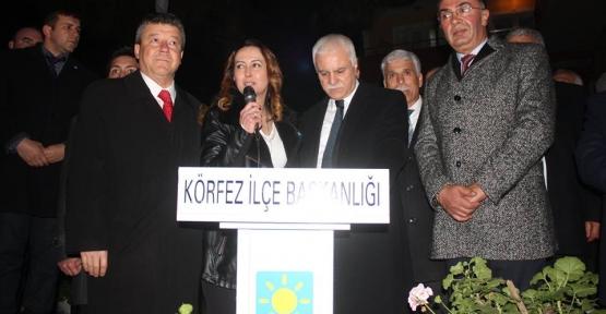 Hacı Osman Seçim Bürosu  Koray Aydın'la Açıldı